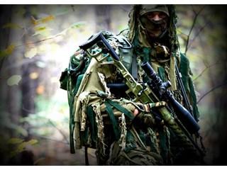 Как командир ГРУ снайперским огнем уничтожил до 40 боевиков обеспечив отход группы. Помним