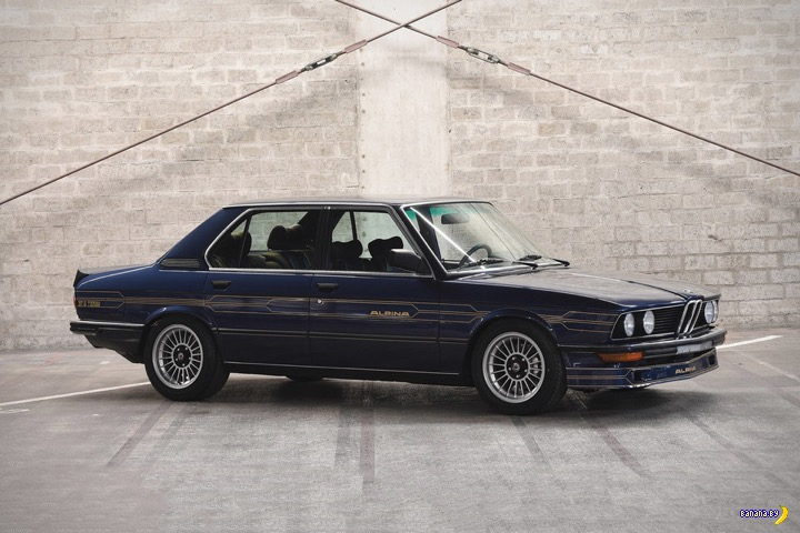 1982 BMW Alpina B7 S TURBO SEDAN