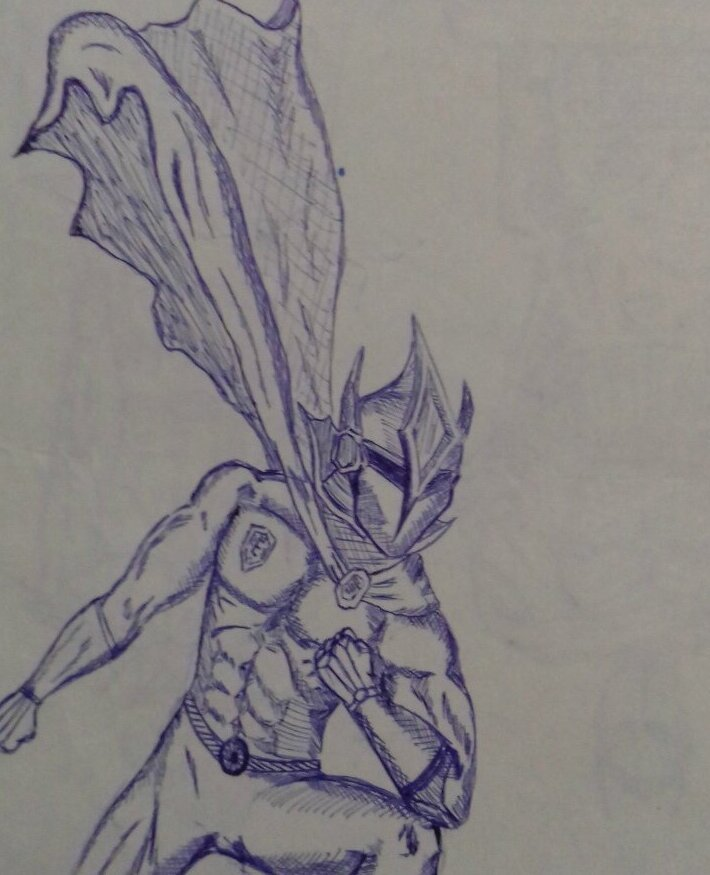 Рисунки школьника: Ручка, тетрадь, 90-е годы