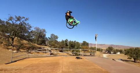 Wheelz или инвалидная коляска вместо скейта