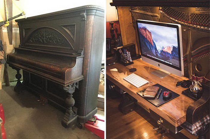 100-летнее пианино превратил…
