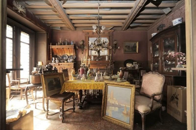 В Париже нашли квартиру нетронутую более 70 лет