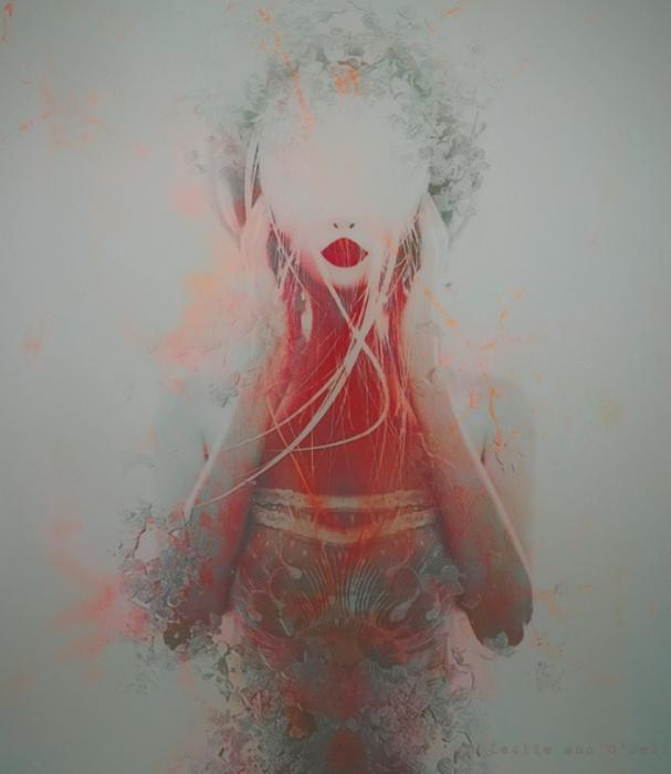 Иллюзии. Автор работ: фото-иллюстратор Лесли Энн О'Делл (Leslie Ann O'Dell).
