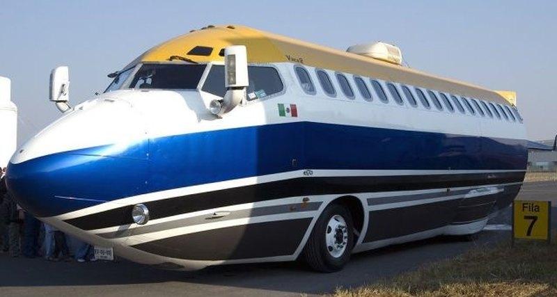 Wingless 727: лимузин из «Боинга»