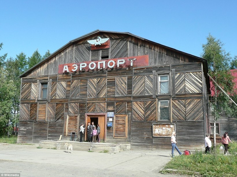 Деревянные аэропорты России, которые поражают пользователей со всего мира