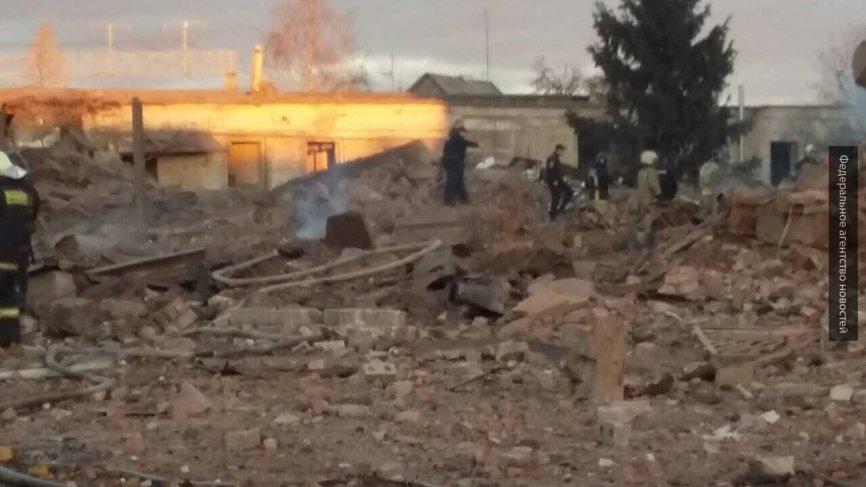 МЧС: под завалами после взры…