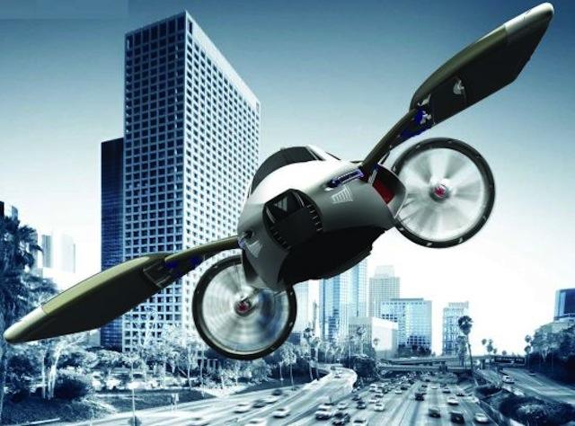 Летающий автомобиль: фантазии и реальность