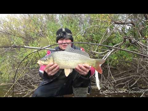 Рыбалка на паук (подъёмник) сплавом по реке