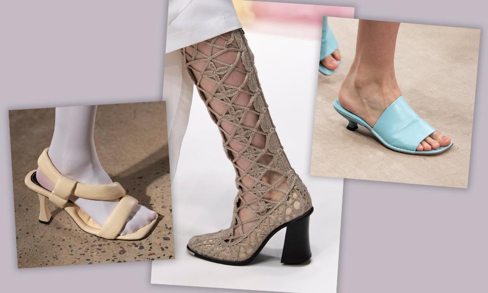 Обувь сезона весна-лето 2020: вьетнамки, вязаные сапоги и «мамины мюли»