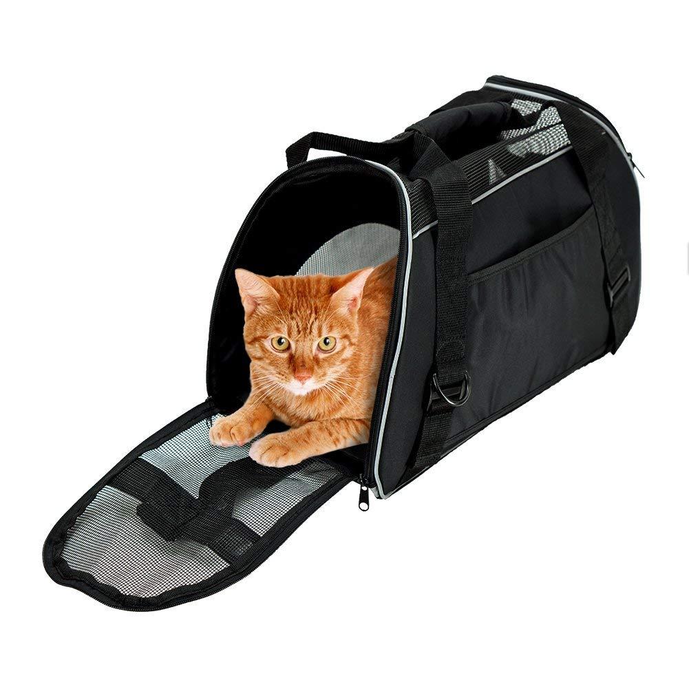 Сумка-переноска для кошки своими руками: выбор материала, выкройки, порядок шитья