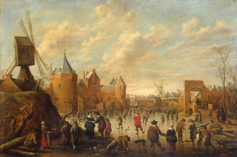 Из истории хоккея- старинные картинки,16-19 век.