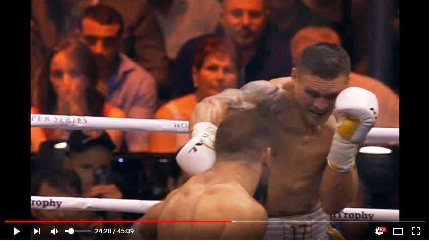 Порошенко назвал украинского боксера Усика символом борьбы Украины после победы над Гассиевым