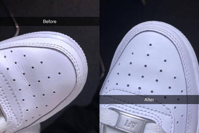 Девушка рассказала о простом способе, который поможет разгладить складки на обуви. Лайфхак, Обувь, Складки, Кожа, Длиннопост