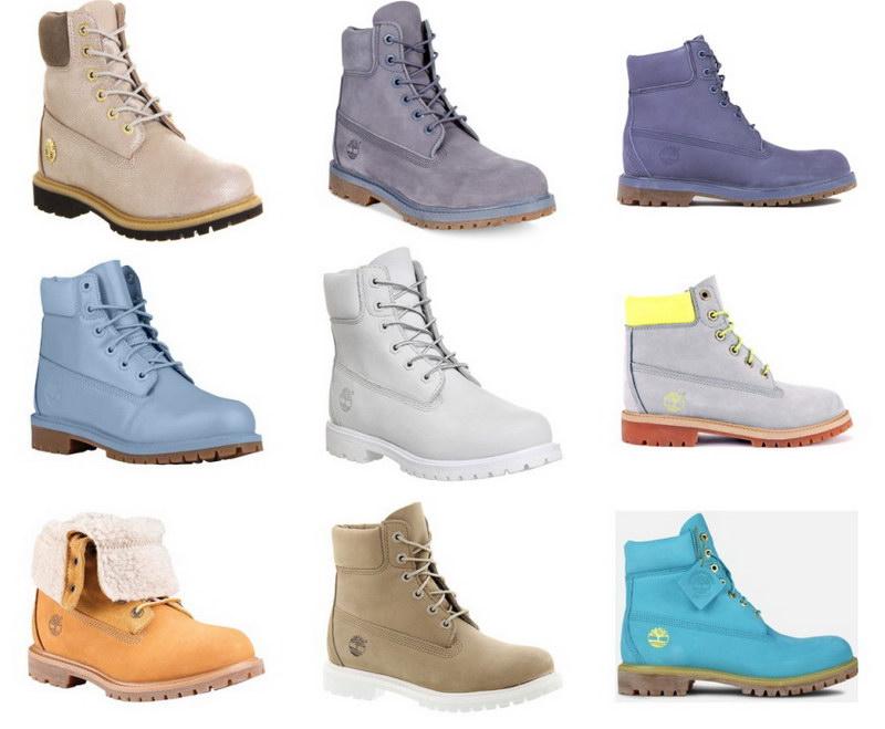 С чем носить ботинки тимберленды девушкам