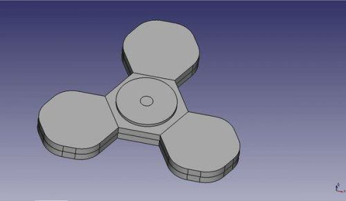 3D модель спинера