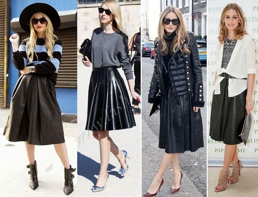 Юбки - модели, как носить и с чем сочетать