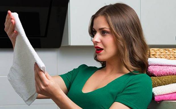 Советы для дома: как отстирать кухонные полотенца простыми способами