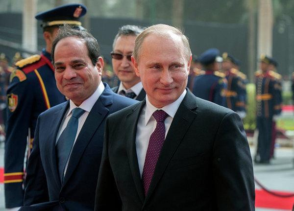 Путин: Египет получит деньги на строительство АЭС за счет Фонда национального благосостояния
