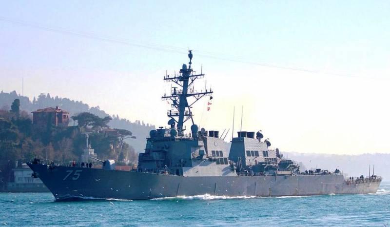 Американцы могут потопить свой эсминец в Керченском проливе