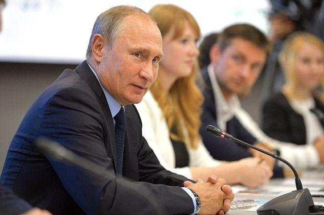 Путин посетит Всемирный фестиваль молодежи и студентов в Сочи