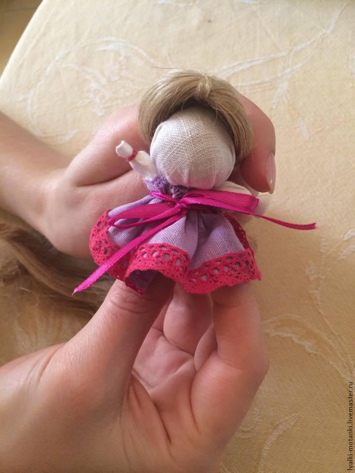 Куколка на счастье. Мастер класс