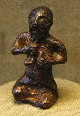 Бронзовый идол из Чёрной могилы.