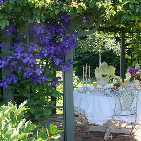 Сад для романтиков: 16 элементов ландшафтного дизайна и выбор растений