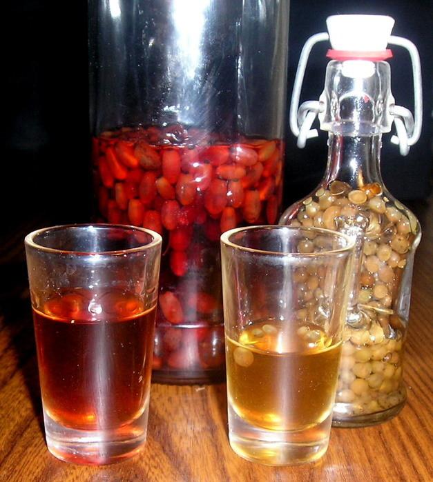 Настойка на кедровых орешках на самогоне рецепты