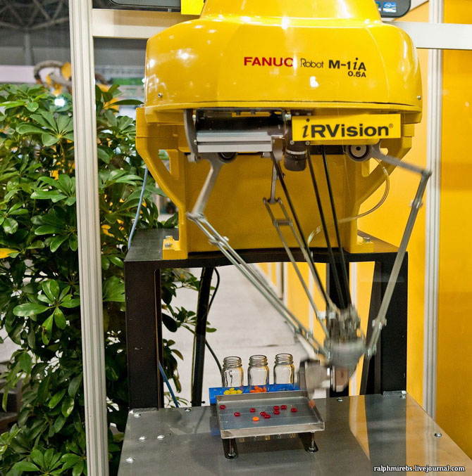 Международная выставка роботов в Японии
