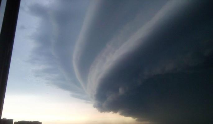 Внезапный шторм опустошил Москву