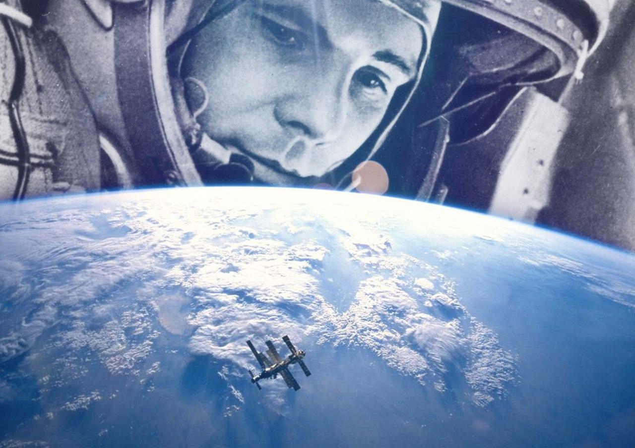 Гагарин никогда не был в космосе?