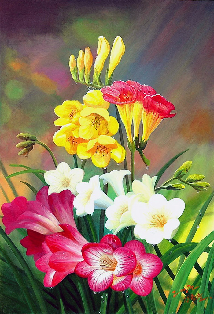 Цветы, как люди, на добро щедры
