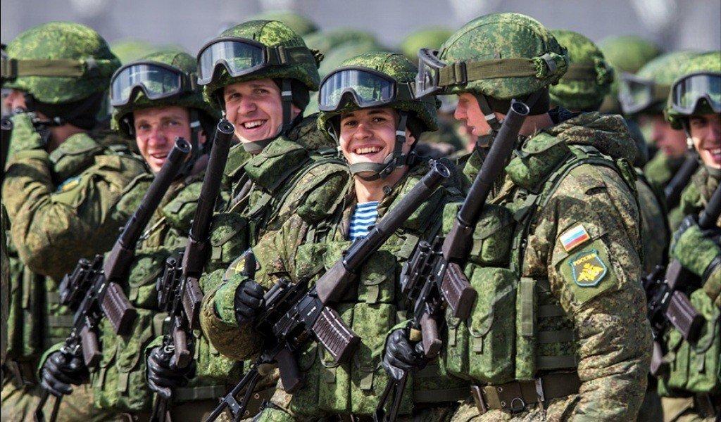 Немного видео об армии России