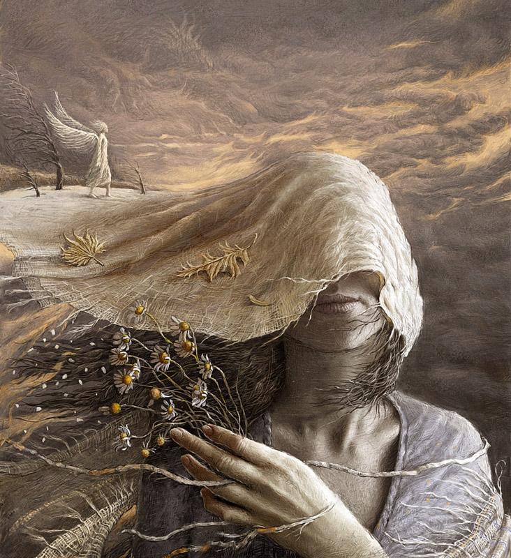 В отражении пустоты, художник Андрей Ферез