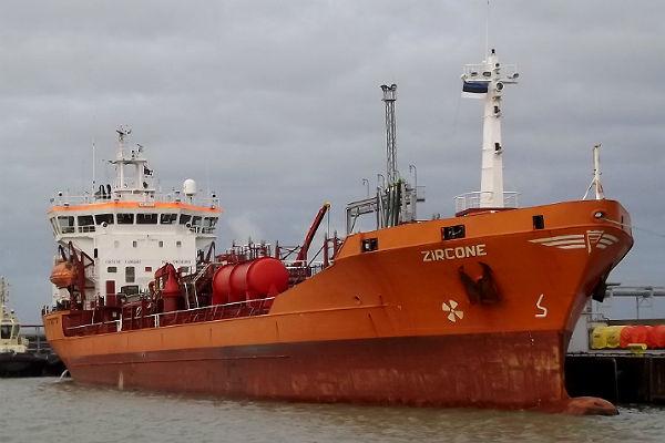 В Рижском заливе загорелся танкер с соляркой
