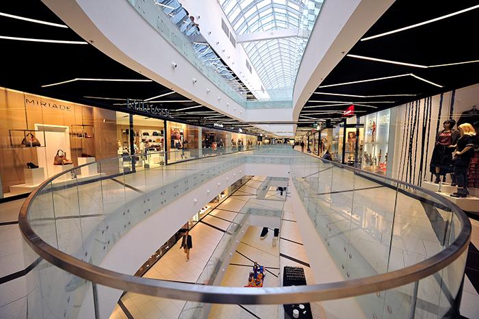 Торговая галерея Silesia City Center в Катовице: интерьер помещений