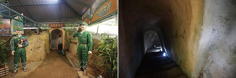Туннели Пиямит выкопали малайские коммунисты в 1976 году для защиты от бомбардировок
