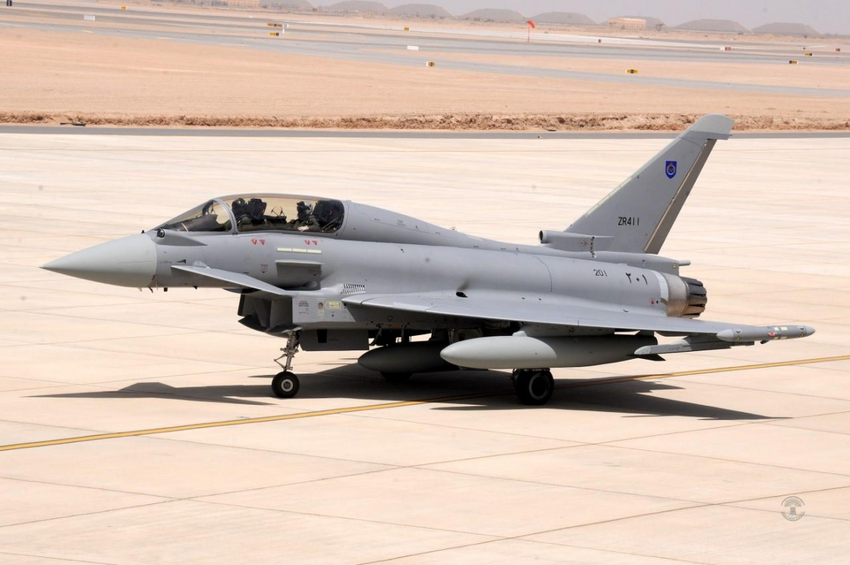 Оман получил первые два истребителя Eurofighter Typhoon