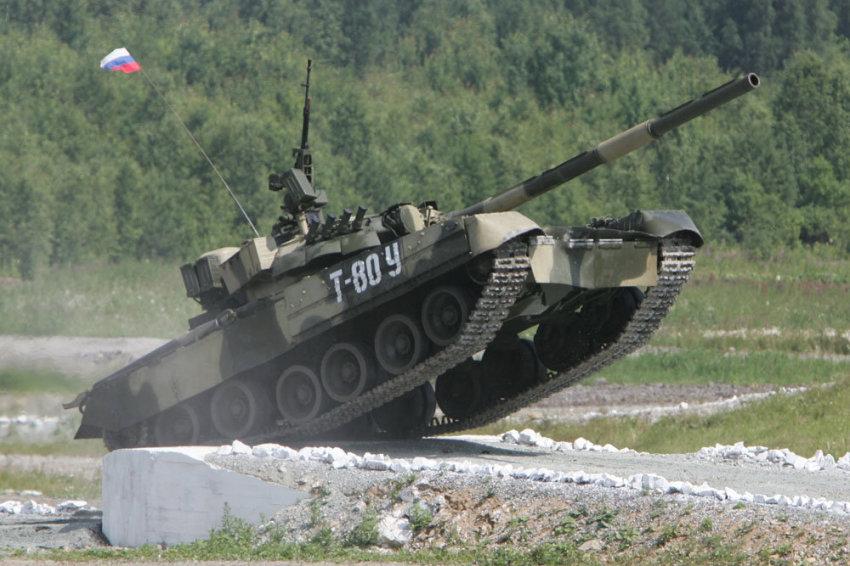 Танки учатся летать. Начинается масштабная модернизация танков Т-80 под Арктику