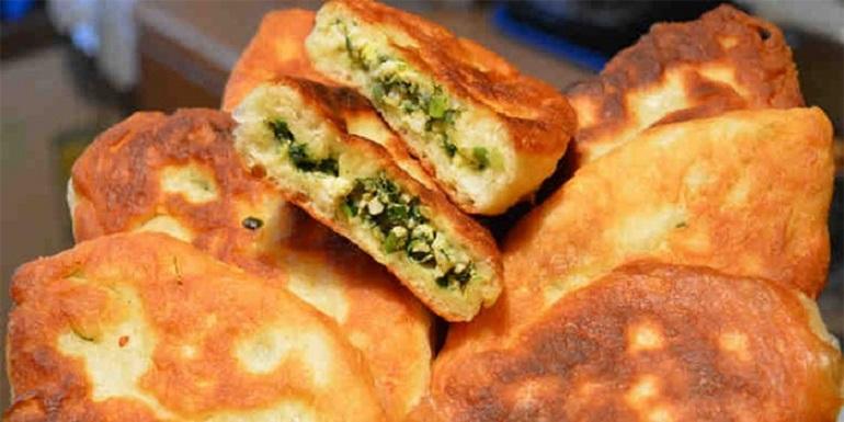Потрясающие пирожки с зелены…