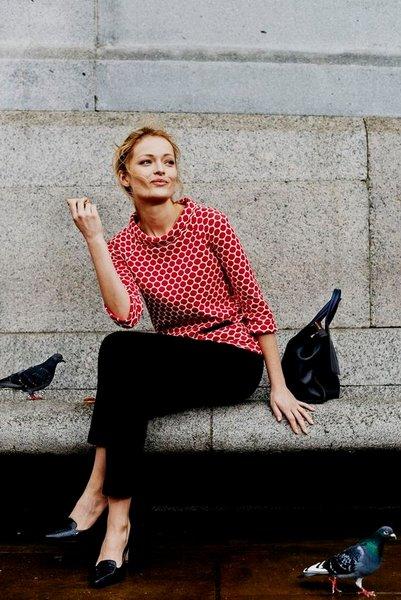 Французский шик — осенний стиль для женщин за 40 в любом весе