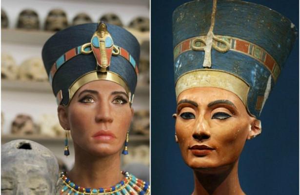 Великая Нефертити оказалась европейкой