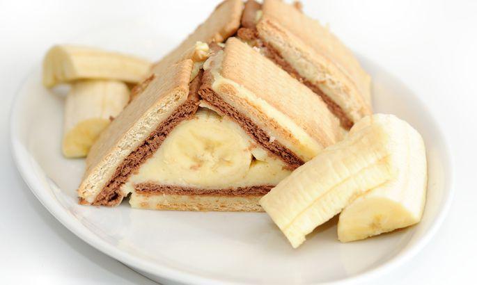 Рецепт: бананово-шоколадный …