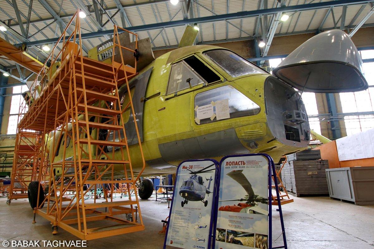 Первый вертолет Ми-38Т для Министерства обороны России
