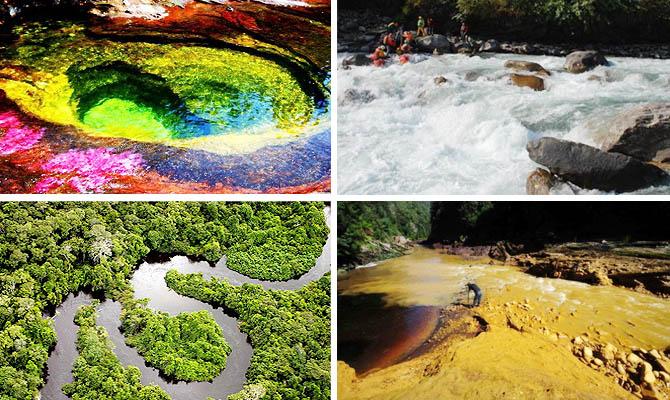 Интересные факты о реках. То…