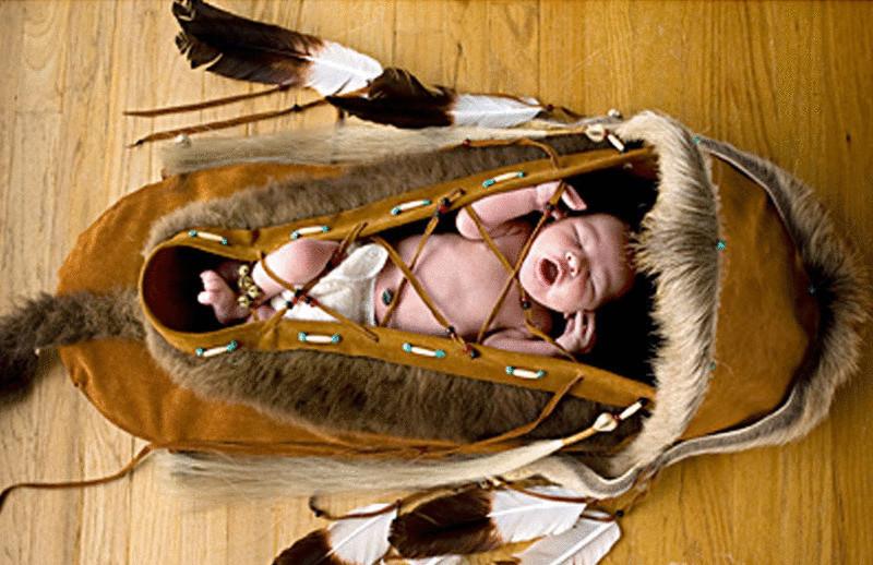 Почему практически все народы имели подвесные люльки для младенцев