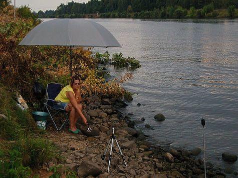 Как рыбачить после дождя