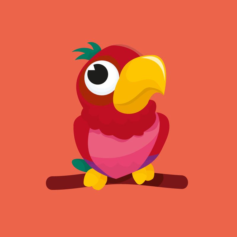 Анекдот про попугая, который постоянно ругался насвоих хозяев
