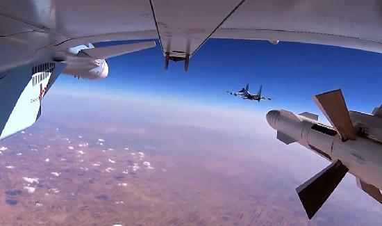 Российские ВВС начали перехв…