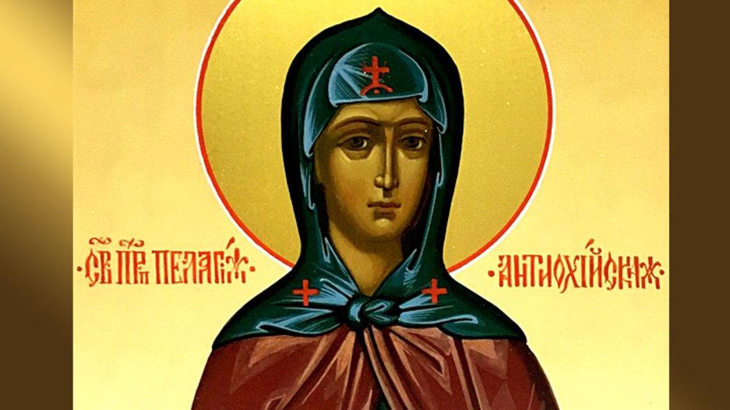 Преподобная Пелагия Антиохий…